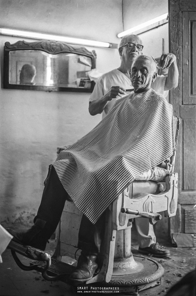 THE BARBER IN TRINIDAD
